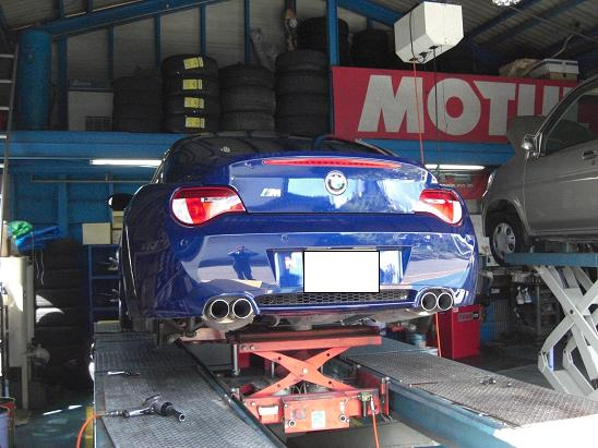 BMW Z4 Mクーペ!