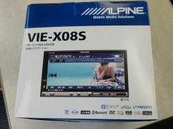 ALPINE VIE-X08S