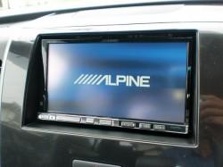 ALPINE VIE-X08S 取り付け完了