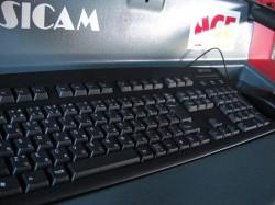 SICAMに装備されたキーボード