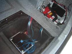 BMW323i トランクルーム