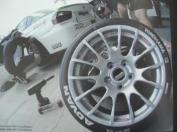 タイヤサプライヤーは、YOKOHAMAがサポート