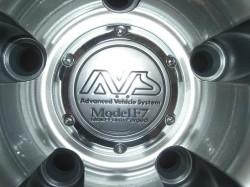 AVS Model F7 20inch センターキャップ部