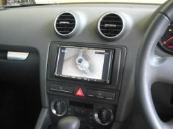 Audi A3 ナビ(パナソニックCN-HDS700TD)取り付け