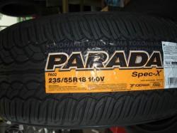 パラダ!!スペックX 235/55R18