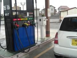 152円、ガソリンでは、高い~ぞ!