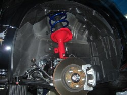 DELICA D5 モトレージ 2インチアップ サスペンション