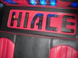HIACE トランクオーディオ完成 トランク(前方)部④