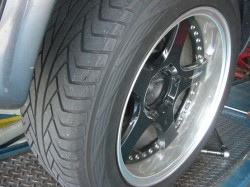 ADVAN-ST 235/55R18 安心して走れたスーパーSUVタイヤでした。