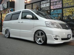 ALPHARD ANH10 Rally Dress Up 全体