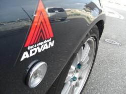 ポッチーくんの愛車ROADSTER タイヤは、ラリーお奨めアドバン装着