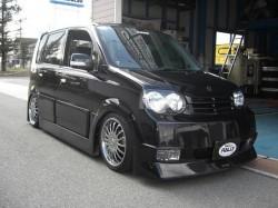 MOVE L150s Rally Dress Up 黒死蝶エアロ