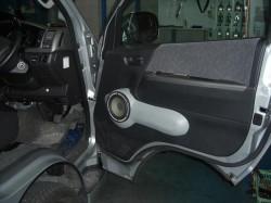RECARO ハイエース#200 RALLYオリジナルフロントスピーカーボード