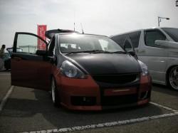 四国AUTOカーニバル2008 帝王賞M君のフィット
