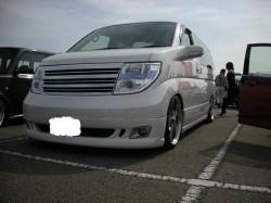 四国AUTOカーニバル2008 帝王賞K君のエルグランド