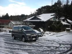 楽しい冬ドライブ スタッドレス&4WD