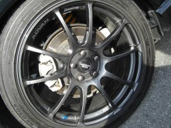ADVAN Racing RZ DARK GUN METALLIC 18inch