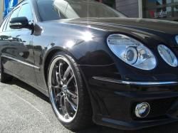 Mercedes-BenzW211ワゴン+PIAAスーパーロッツァ