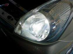 HID 取り付け後!