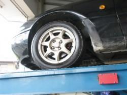 オイル交換、タイヤ点検