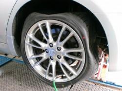 タイヤが・・・・