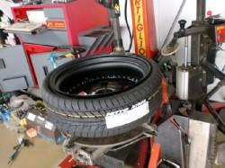タイヤはNITTOを選択!