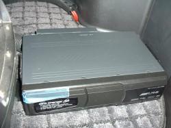 DVD Player 取り付け作業