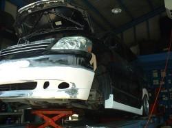 ボクシーAZR60 フロントスポイラー加工