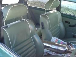 mini cooper 限定の内装ドライビングシート