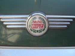 mini cooper ミニクーパーエンブレム